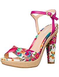 DESIGUAL® Mujer Diseñador Tacones Altos Zapatillas - SEVILLA - Nueva Colección -