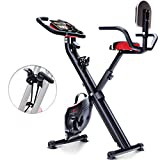 Sportstech Vélo d'Appartement F-Bike X100-B 4-en-1 Home Trainer...