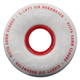 Best Skateboard Wheels - Ricta Clouds Set of 4 Wheels Red Clouds Review