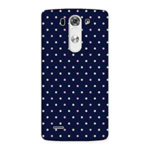 NEO WORLD Remarkable Dots Back Case Cover for LG G3 Mini