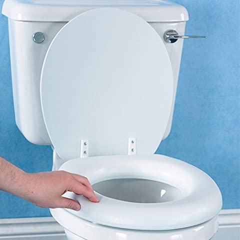 Soft Padded Raised Toilet