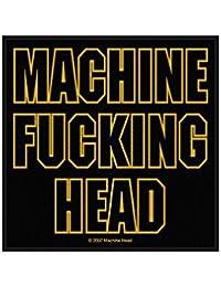 Machine Head-Machine Fucking Head Patch-Iron/Woven) Build Year SP2187] by Razamataz