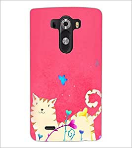 PrintDhaba Abstract Image D-3930 Back Case Cover for LG G3 (Multi-Coloured)