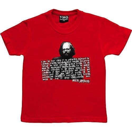 T34 Allen ginsberg Kids' T-Shirt