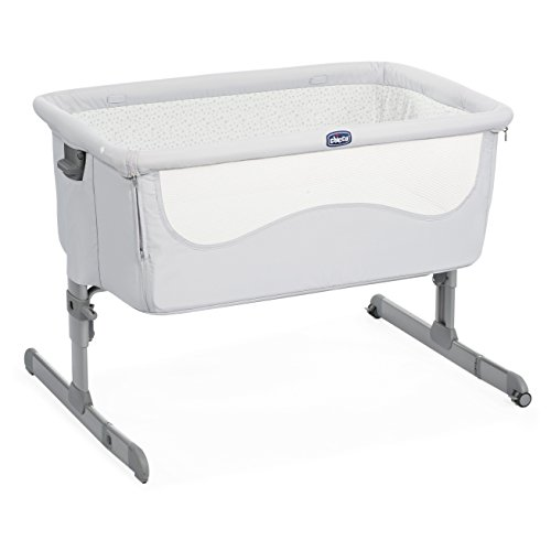 Chicco 05079339280000 next2me culla, 0m+, grigio (light grey)