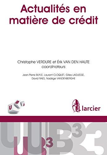 Actualits en matire de crdit (UB3)
