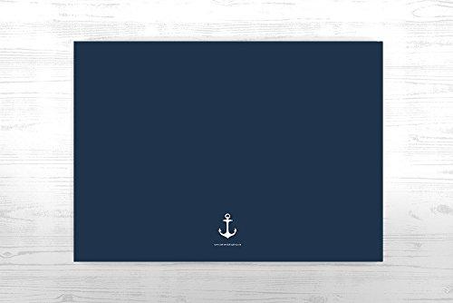 Personalisiertes Gästebuch | Maritimer-Look