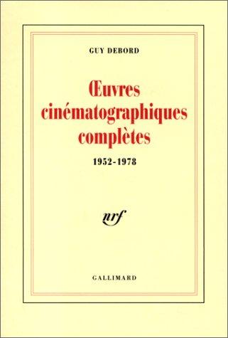 Oeuvres cinématographiques complètes, ...