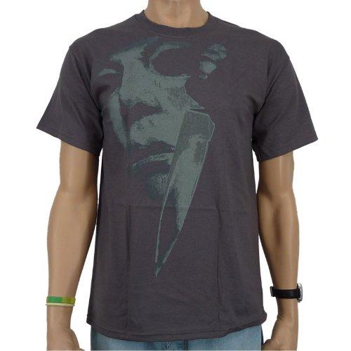 halloween-jumbo-face-banda-camiseta-antracita-unisex-hombre-halloween-yum-t-shirt-grosse-s-gris-smal