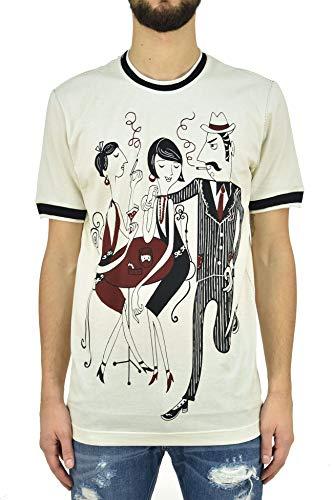 Dolce & Gabbana T-Shirt Trio Herren - Größe: 44 - Farbe: Beige - Neu