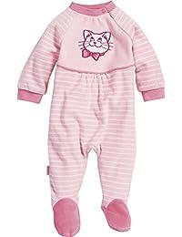Playshoes Baby-Mädchen Schlafstrampler Schlafoverall Nicki Katze