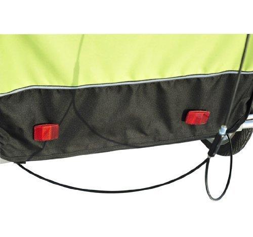 Homcom 5664-1099 2 in 1 Jogger Kinder Fahrradanhänger 5 Farben zur Auswahl Neu, grün / schwarz - 4