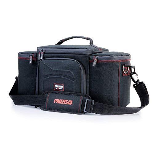 Prozis BeFit Bag 2.0 - Bolsa Organizadora de Alimentos, Compartimento de Almacenamiento Aislado para Mantener los Alimentos Frescos, con 3 Recipientes y 2 Sacos de Hielo, Negro