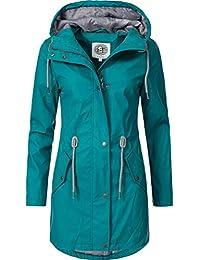 Peak Time Damen Allwetter Regenjacke Regenmantel L60049 S-XXL
