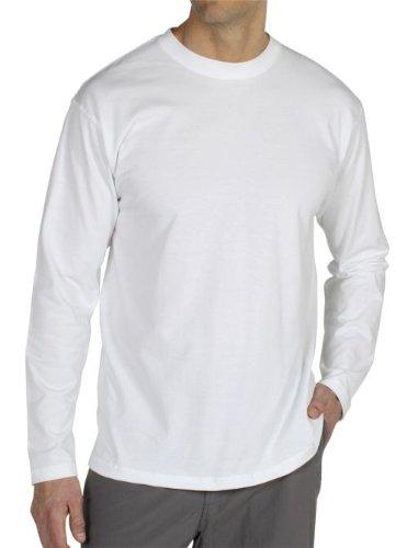 ExOfficio Herren BugsAway Chas 'R Crew Long Sleeve Shirt XL weiß -