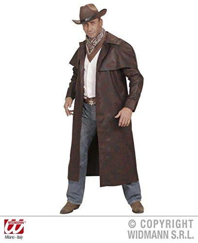KOSTÜM - REVOLVERMANN - Größe XL, braun, Indianer Wilder Westen Cowboy Sheriff Pistolenheld Duster (Kostüme Cowboy Und Indianer)