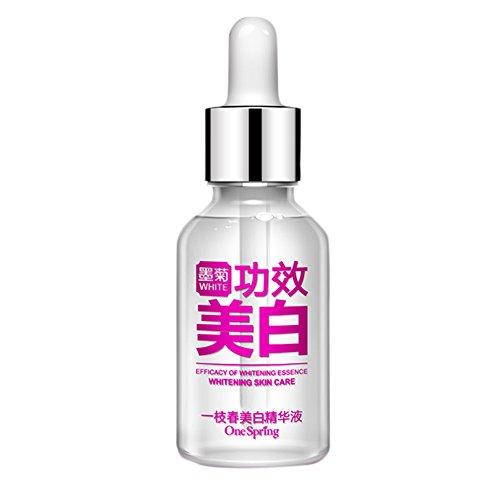 Cocohot Hautaufheller und Aufhellung Serum für Den Ebenmäßigen Teint Akne Narbe Serum Gesichtspflege Bleichen Essenz Feuchtigkeitscremes (Haut Bleichen Aufhellung)