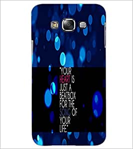 PrintDhaba Quote D-2905 Back Case Cover for SAMSUNG GALAXY A8 (Multi-Coloured)