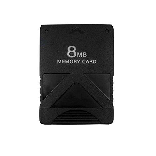 Eaxus PS2 Memory Card 8MB. Speicherkarte für PlayStation 2 Konsole & Games. Zum Speichern Ihrer Spielstände