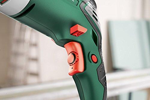Bosch DIY Schlagbohrmaschine PSB 1000-2 RCE, Zusatzhandgriff, Tiefenanschlag, Koffer (1000 Watt, Max. Bohr-ø 1./2.Gang: Holz: 40/25 mm, Beton: 20/13 mm) - 2