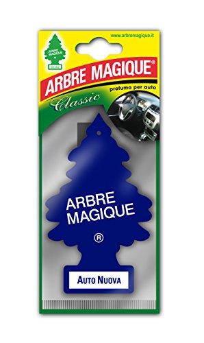 Arbre Magique Mono, Deodorante Auto, Fragranza Auto Nuova, Profumazione Prolungata fino a 7 Settimane
