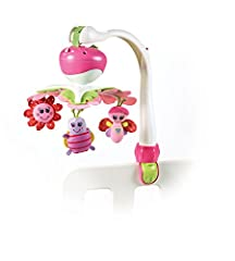 Idea Regalo - Tiny Love Take Along Mobile Princess Giostrina Musicale Lettino, si Trasforma in Gioco Passeggino, Rosa
