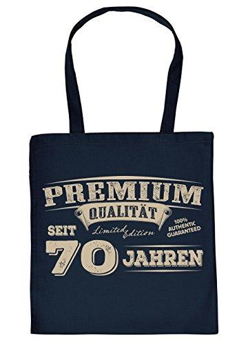 fbeutel/Spaß-Tasche Thema Geburtstag: Premium Qualität seit 70 Jahren geniales Geschenk ()