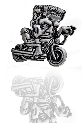 Frankenstein • Pin • Badge • Chopper • Motorrad • Custom • Bobber • Hot Rod • Free Biker USA 1%