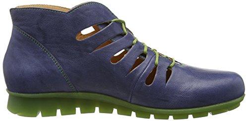 Blau 84 Think kombi Stiefel Kurzschaft jeans Menscha Damen IrI8x4qwvp