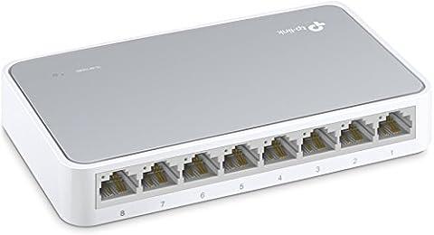TP-Link TL-SF1008D Switch 8 Ports 10/100 Mbps (Bureau, Boîtier Plastique)