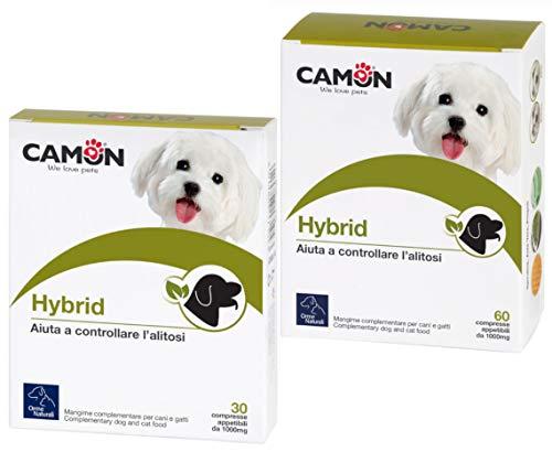 Castrol Hybrid Care per Cani e Gatti, 60 Compresse Pulizia Occhi - 100 g