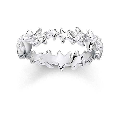 THOMAS SABO Damen Ring Seesterne 925er Sterlingsilber TR2183-051-14