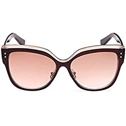 Tansle Damen Sonnenbrille Braun Brown/Brown