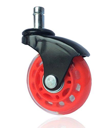 buroroll-ruote-girevoli-premium-635mm-rosso-nero-ruote-girevoli-trasparenti-con-elegante-battistrada