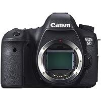 Canon EOS 6D Cuerpo de la cámara SLR 20.2MP CMOS 5472 x 3648Pixeles Negro - Cámara digital (20,2 MP, 5472 x 3648 Pixeles, CMOS, Full HD, Negro)