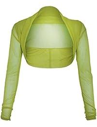 - shirt à manches longues en maille transparente Boutique Boléro des neiges Taille 36–50
