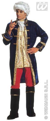 Widmann wid3247c - costume per adulti casanova, multicolore, xl