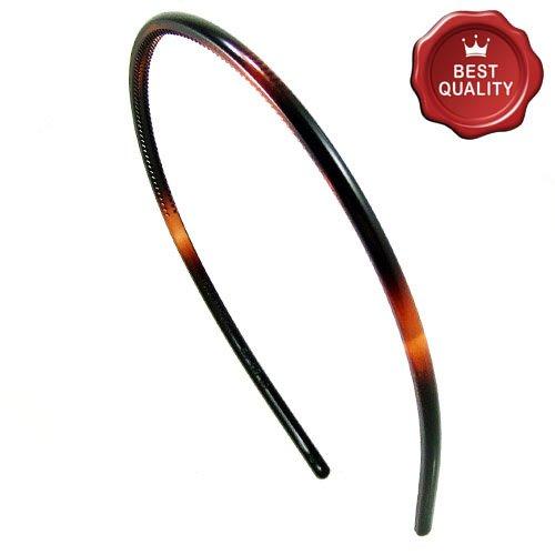 K40-003 - Cheveux pour cheveux fine cm 0,5 couleurmarron tortue - Bulles pour cheveux