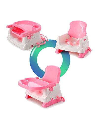 XWZ Kinderstühle Baby-Sitze Essecke-Baby-Sitze Baby-Stuhl-Baby-Speisetisch-Baby-Esszimmerstuhl Verschiedene ( Farbe : Pink )