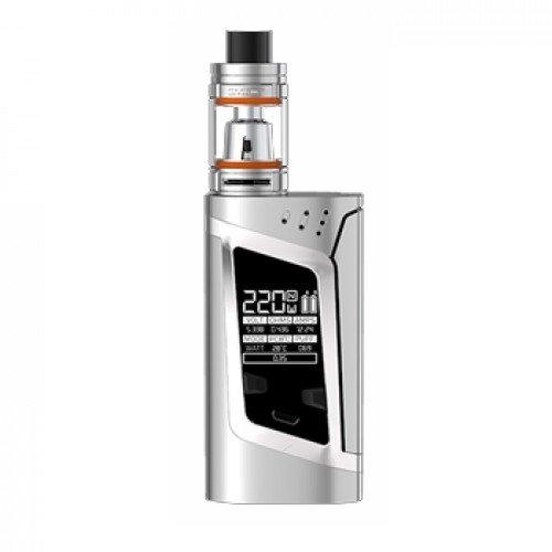 SMOK ALIEN Kit 220W con TFV8 Baby Tank 2mL Colore Argento E Sigaretta Senza Nicotina