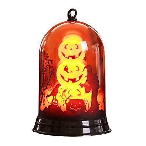QinMM W Halloween Wohnkultur,Glückliches Halloween-kleines Lampenschirm-Kürbis-Dekorations-Hauptlieferungs-Feriengeschenke (Lampenschirm Hut Kostüm)