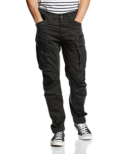 G-Star Herren Rovic Zip 3D Tapered Hose, Grau (Raven), 36/30