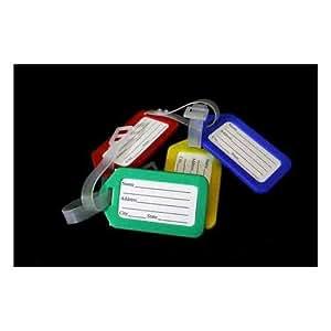 SystemsEleven Plaque d'identification pour valise avec attache