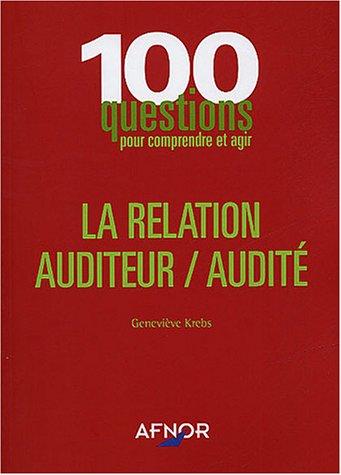 La relation auditeur/audité