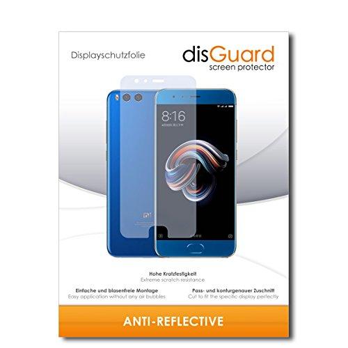 disGuard® Displayschutzfolie [Anti-Reflex] kompatibel mit Xiaomi Mi Note 3 [2 Stück] Entspiegelnd, Matt, Antireflektierend, Extrem Kratzfest, Anti-Fingerabdruck - Panzerglas Folie, Schutzfolie