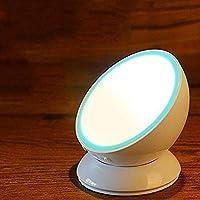 LQQAZY Menschlicher Körper Induktion Nachtlicht Wiederaufladbare Schlafzimmer Korridor Licht 360 Grad LED Rotierenden... preisvergleich bei billige-tabletten.eu
