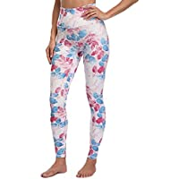 Lunule Mujer Pantalones Deportivos de Cintura Alta Fitness Running Yoga Pantalon Estampado Mallas Deporte Leggins Leggings Pantalones Largos para Entrenamiento Gimnasio