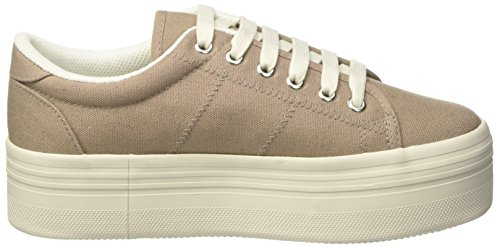 Jeffrey Campbell Zomg, chaussures de sport femme Beige (Platan)