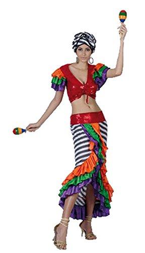 Imagen de el carnaval disfraz cubana adulto