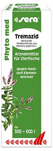 sera 45133 Phyto med Tremazid - Arzneimittel für Zierfische gegen Haut- und Kiemenwürmer, 30 ml